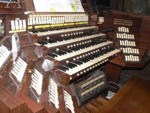 Console du Grand-Orgue de la cathédrale de Rouen